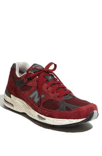 Oxblood running shoes #madeinusa