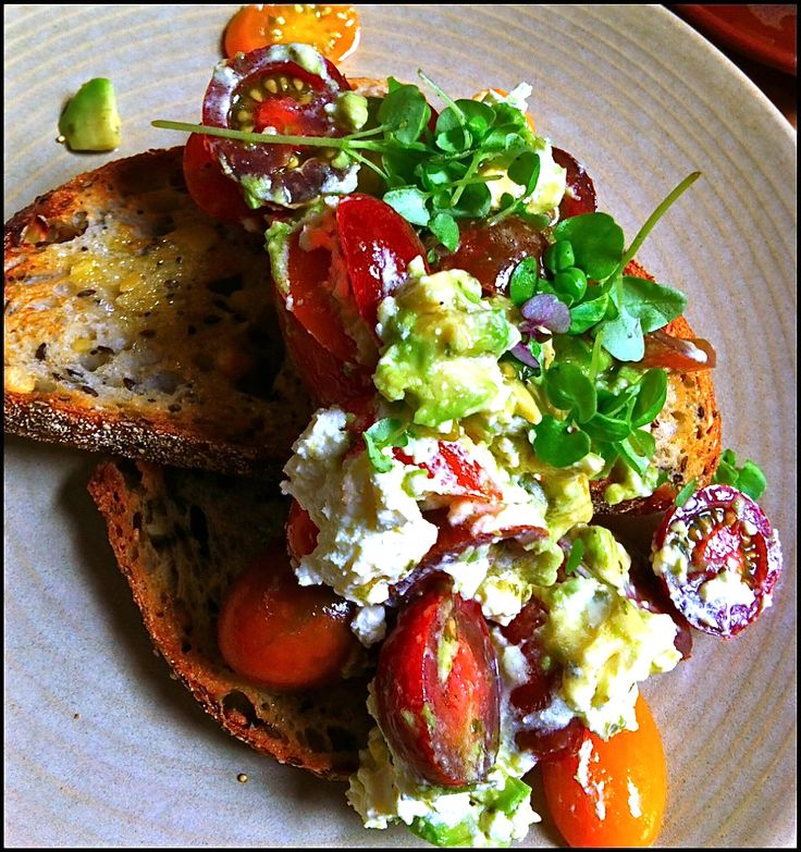 Seven Seeds Avo & Fetta on Toast