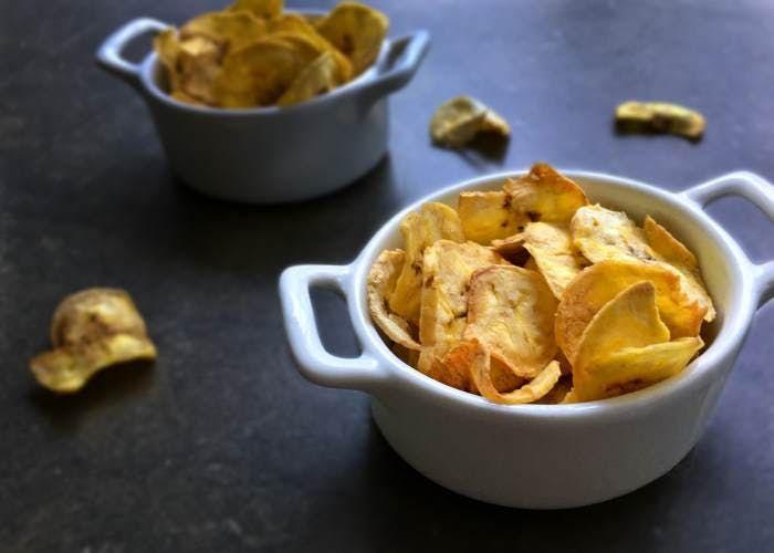 Chips De Frutas Un Snack Saludable Y Diferente Snacks Saludables Frutas Y Verduras Frutas Y Vegetales