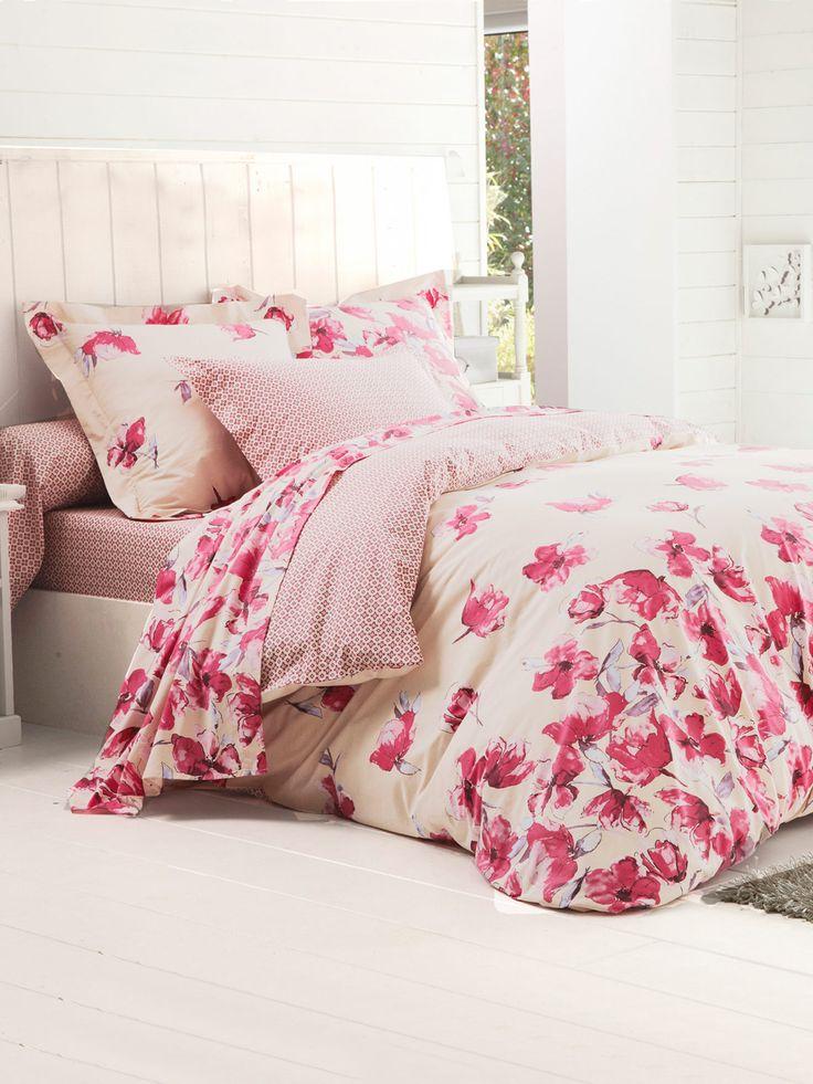 77 best housse de couette images on pinterest printed cotton comforter and catalog. Black Bedroom Furniture Sets. Home Design Ideas