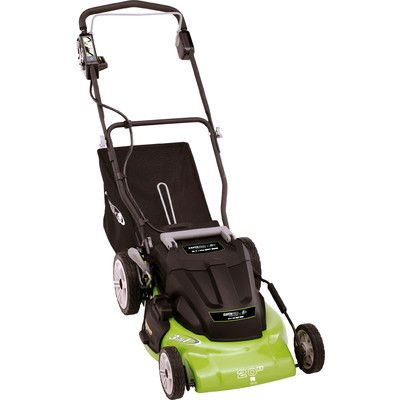 earthwise 20 cordless 36 volt electric lawn mower in. Black Bedroom Furniture Sets. Home Design Ideas