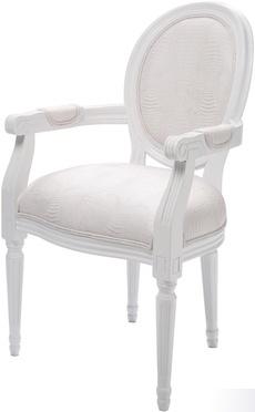 sillon luis blanco / dto 30% - 250€ Tienda On Line de Muebles Vintage, Retro, mobiliario para restaurantes