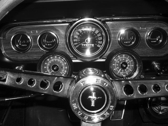 19 best 1965 mustang restomod images on pinterest 1965 mustang Coil Wiring Diagram Mustang Rally Pac Restoration 1965 rally pac wiring diagram