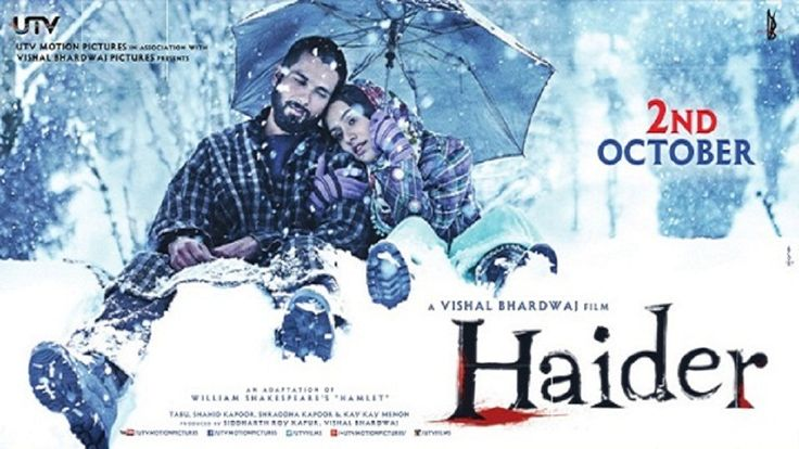 Haider (2014) Movie Poster No. 5