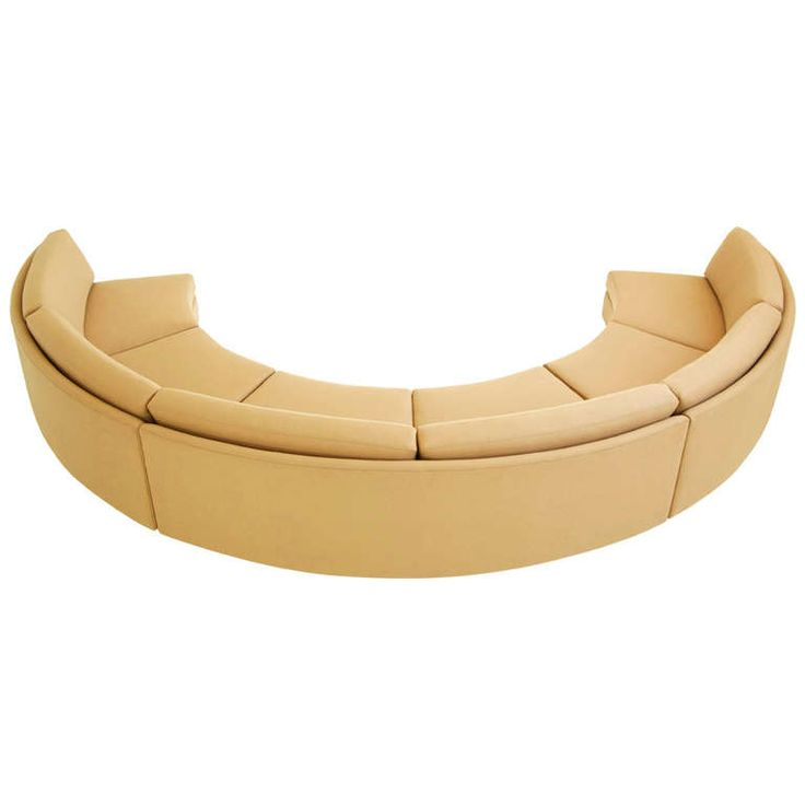 Best 25+ Round sofa chair ideas on Pinterest Circle chair, Round - contemporary curved sofa
