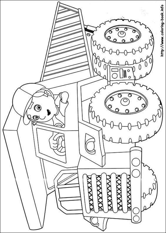 Handy Manny Coloring Page Disney