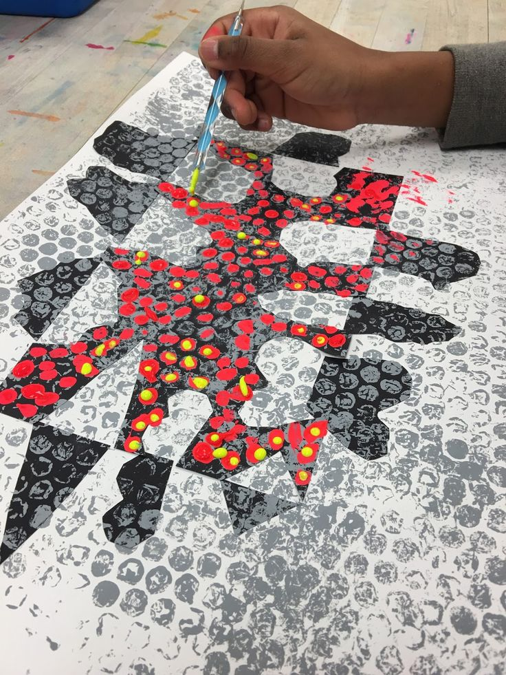 Adding Bubbles and Dots First you cut