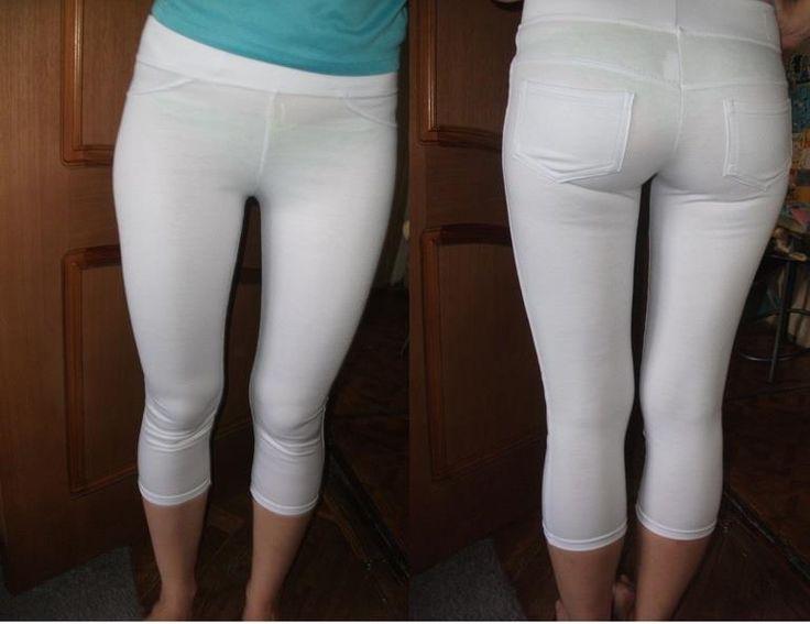 Фото стринги сквозь штаны просвечивают #5