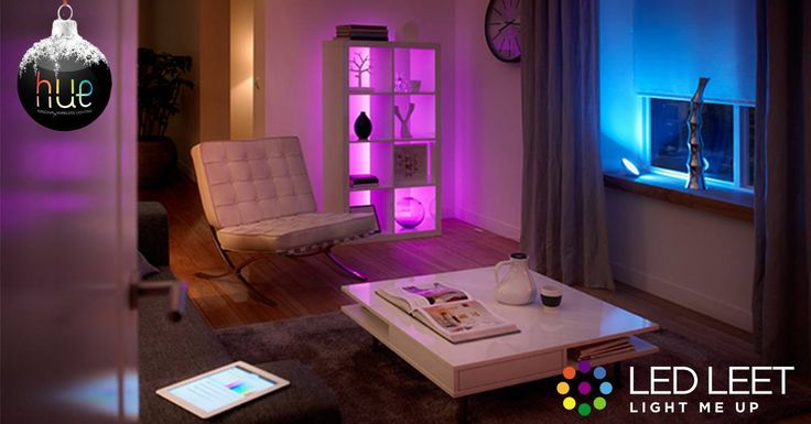 White lights are way too simple. Your mood changes. Your activities demand different lights and colours. Philips made it easy to adjust the lights in your home. Go Hue!