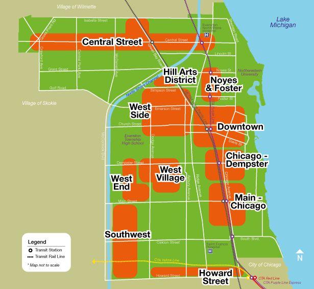 Explore Evanston S Unique Business Districts