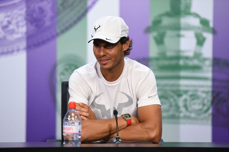 Rafael Nadal during his press conference - Billie Weiss/AELTC