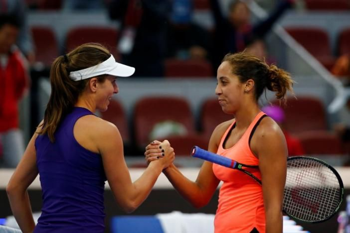 Konta breaks into top 10 as she reach China final   Britains Johanna Kontareaching the China Open final on Saturday --will become the first British woman to reach the top 10 of the WTArankings for 32 years on Monday.  Konta beat American world number nine Madison Keys 7-6(1) 4-6 6-4 and will face Polands third seed Agnieszka Radwanska in Sundays final.  Irrespective of the result Konta is guaranteed a top-10 spot when the new rankings are released. She's the first British woman to rise so…