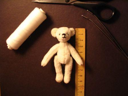 faire un ours pas à pas