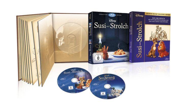 Susi und Strolch 1+2 - Digibook [Blu-ray]: Amazon.de: DVD & Blu-ray
