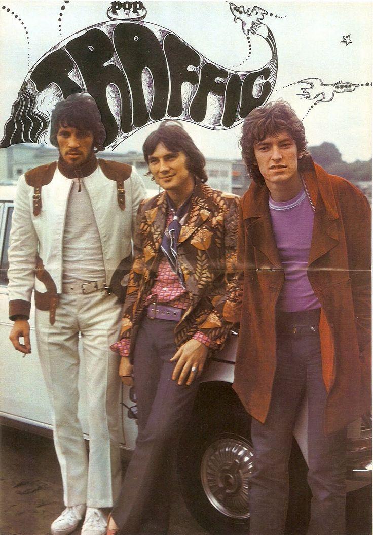 Traffic Pop Magazine 1968 Chris is wearing that fantastic jacket!