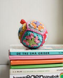 Lovely crochet rattle
