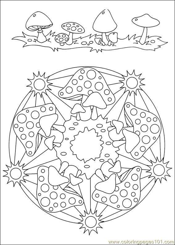free printable coloring image Mandalas 034