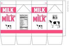 got milk template - my froggy stuff printables milk carton google search