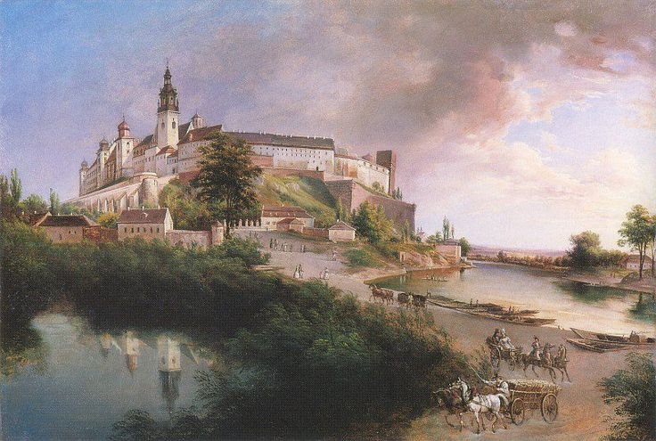 Zamek Królewski na Wawelu w Krakowie. Royal Castle on Wawel Hill in Kraków.