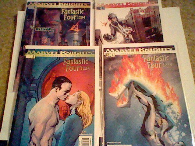 Fantastic Four 1234 , Complete Set ,Grant Morrison Jae Lee,Marvel,Dr Doom