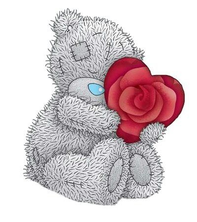 Tatty Teddy ~ Rose Heart. I Love You Rose ;)