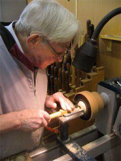 Kurs mit Christian Delhon, Nov 2007 - drechselmaschine