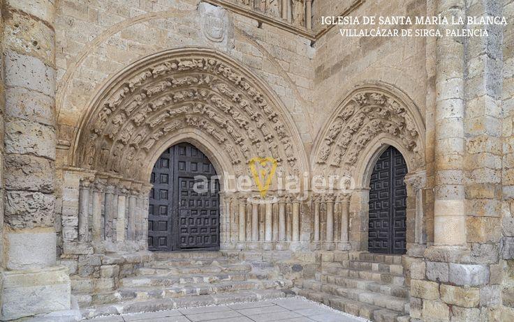 Iglesia de Santa María la Blanca, Villalcázar de Sirga (Villasirga). Provincia de Palencia