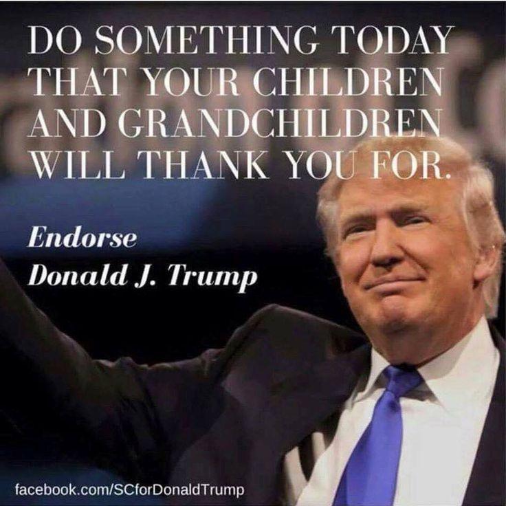 Remember your children and grandchildren's future .