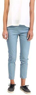 Prada Women's Cotton Slim Fit Chino Pants Teal.