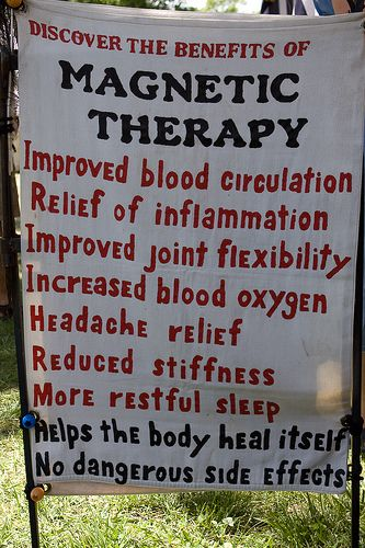 With Magnet Therapy practitioners use static magnets on certain parts of the…