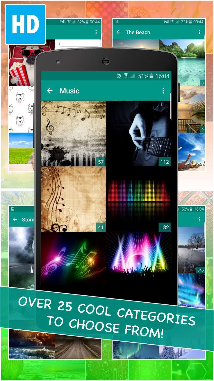 screenshots wallpapers application