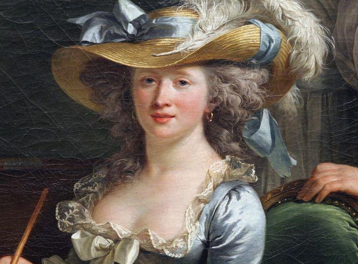 Examine adelaide labille guiard s self portrait two pupils
