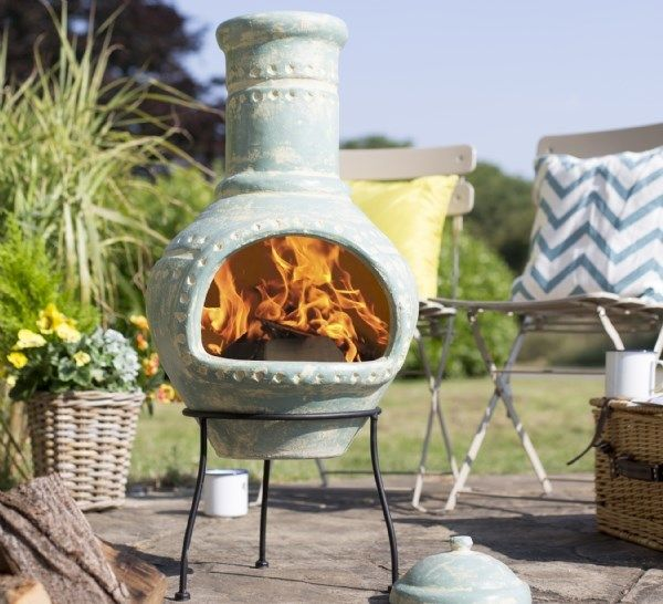 17 Best Images About Chimeneas, Fire Bowls And Garden