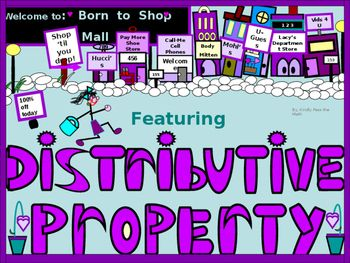 This is a lesson that guides your students in how to use the distributive property in algebra.  They will use a rectangular model and the distributive property to calculate the area of that rectangle.  They will use the distributive property with addition and with subtraction, and will use the distributive property to rewrite expressions without parentheses.