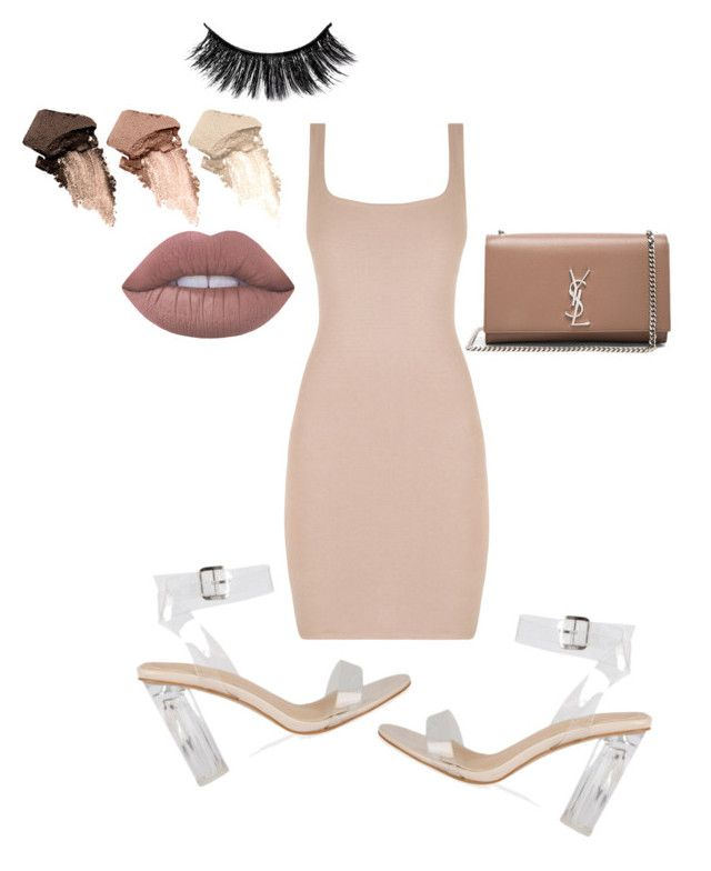 """""""Untitled #61"""" by sandie-mefaddi on Polyvore featuring Urban Decay, Lime Crime and Yves Saint Laurent"""