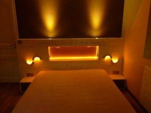les 25 meilleures id es concernant bandeau led sur pinterest rail tiroir design moderne de. Black Bedroom Furniture Sets. Home Design Ideas