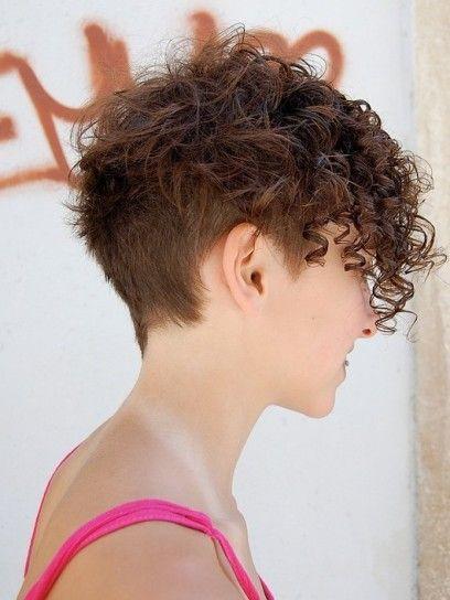 capelli ricci corti rasati - Cerca con Google