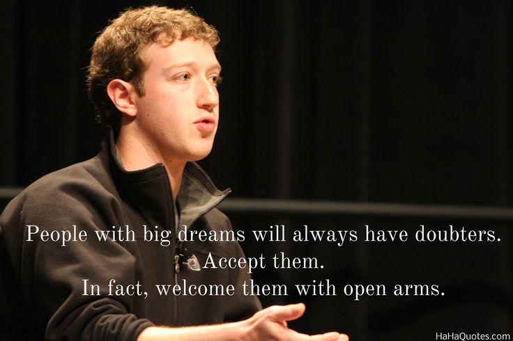 mark zuckerberg quotes long term - Google Search