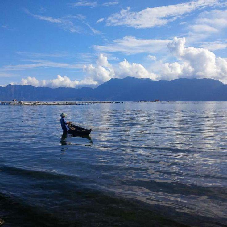 Maninjau Lake, Bukittinggi, West Sumatra