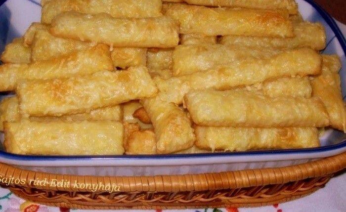Megdöbbentően finom sajtos - sós rudacskák, a legjobb recept, amit valaha kóstoltál :) ez az igazi, hagyományos sajtos... - MindenegybenBlog
