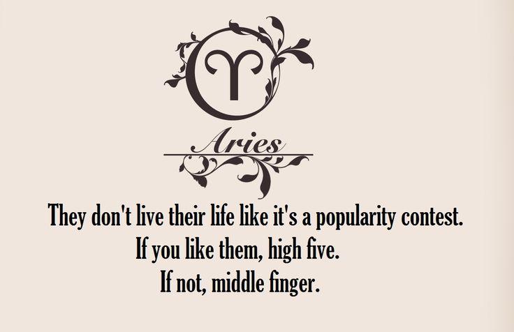 Aries traits ...                                                                                                                                                                                 More