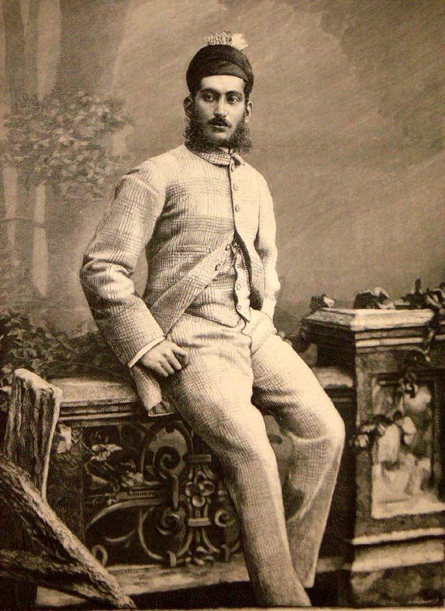 Asaf Jah VI, ruler of Hyderabad State, 1889