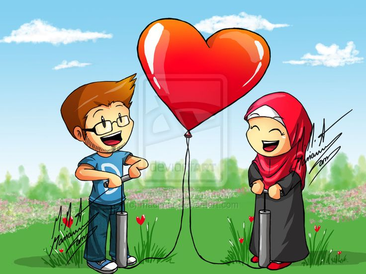 10 Best Images About Muslim Couples Cartoon On Pinterest