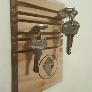 Casitas de madera porta llaves buscar con google diy objetos pinterest search - Porta llaves pared ...