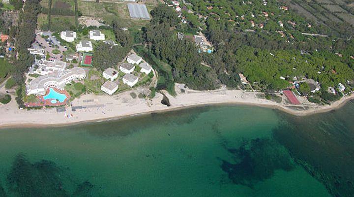 Flamingo Beach Resort's Aerial photos