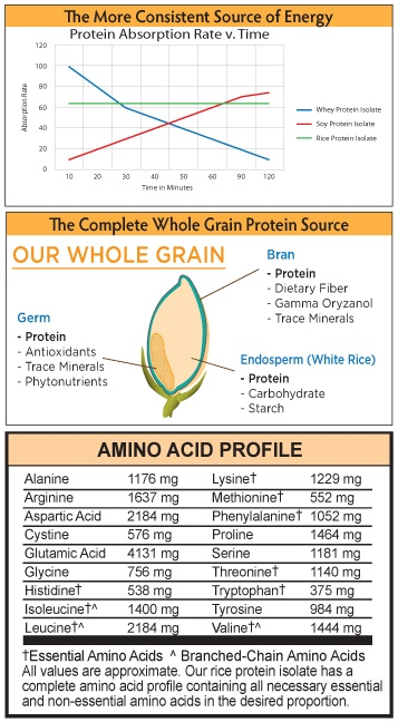 THE COMPLETE WHOLE GRAIN PROTEIN SOURCE OUR WHOLE GRAIN
