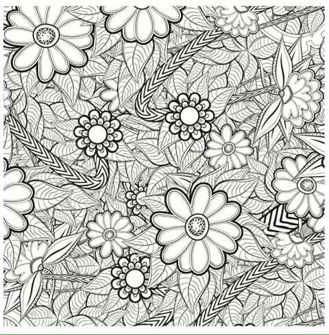 74 best Para Pintar Flores y Arboles images on Pinterest | Dibujos ...