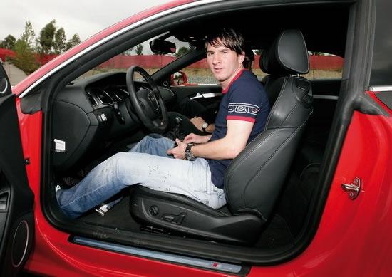 Estos son los carros de Lionel Messi