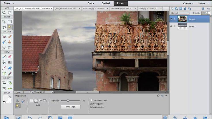 Photoshop Elements: Selection Modifiers