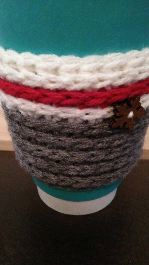Retrouvez cet article dans ma boutique Etsy https://www.etsy.com/ca-fr/listing/259986584/cup-cozy-bas-de-laine-cup-cozy-bas-de